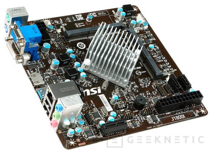 MSI también tiene su propia placa Mini-ITX con SoC J1800, Imagen 1