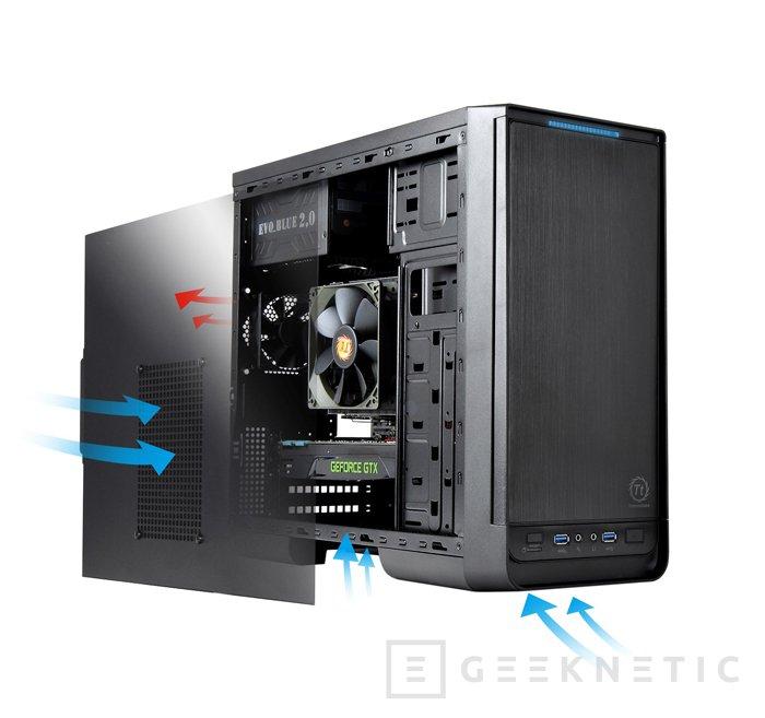 Thermaltake amplía su catálogo de torres micro ATX con la nueva Urban S1, Imagen 2