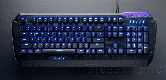Finalmente llegan al mercado los teclados gaming Tesoro Lobera, Imagen 2
