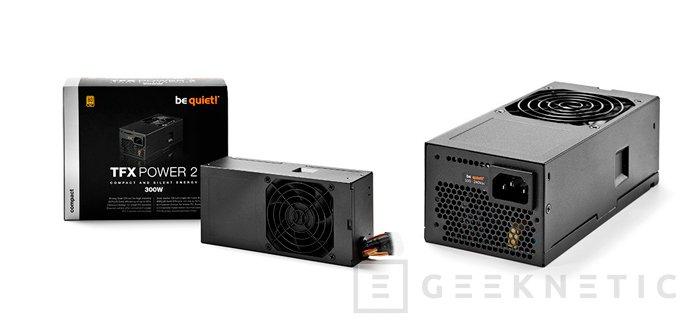 Nuevas fuentes en formato SFX y TFX de Be Quiet! para torres pequeñas, Imagen 1