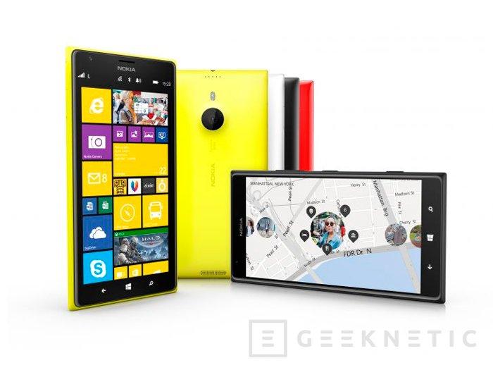 Llegan a España los Lumia 1520 y 1320, los smartphones más grandes de Nokia, Imagen 2