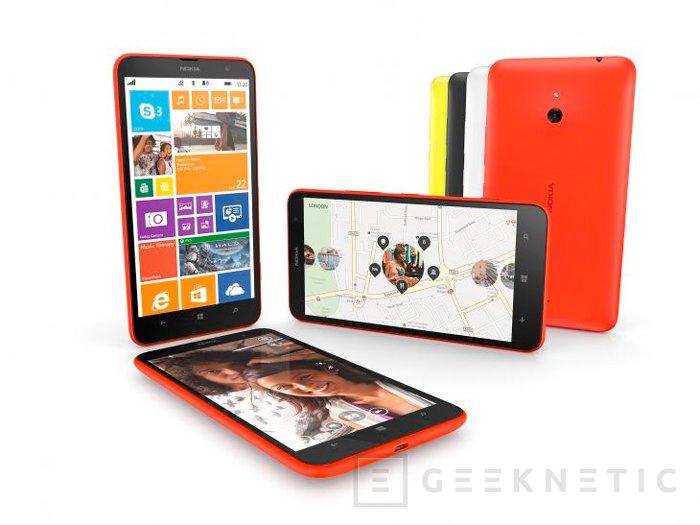 Llegan a España los Lumia 1520 y 1320, los smartphones más grandes de Nokia, Imagen 3