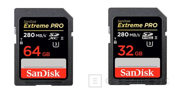 SanDisk presenta las tarjetas SD más rápidas del mundo., Imagen 1