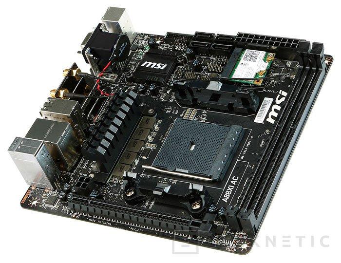MSI A88XI AC, nueva placa base Mini-ITX para las APU Kaveri de AMD, Imagen 2