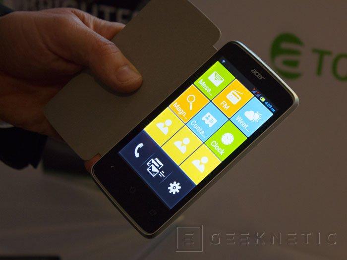 Probamos los nuevos smartphones ACER Liquid Z4 y Liquid E3, Imagen 1