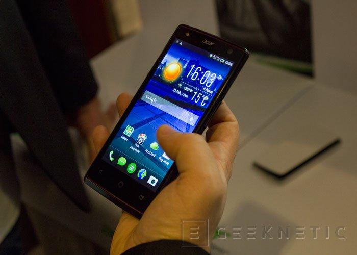 Probamos los nuevos smartphones ACER Liquid Z4 y Liquid E3, Imagen 2
