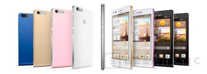 Huawei. Ascend G6 LTE, Imagen 1