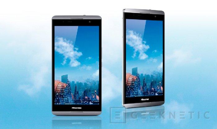 """Hisense. MAXE X1 Smartphone 6.8"""" con Snapdragon 800, Imagen 1"""
