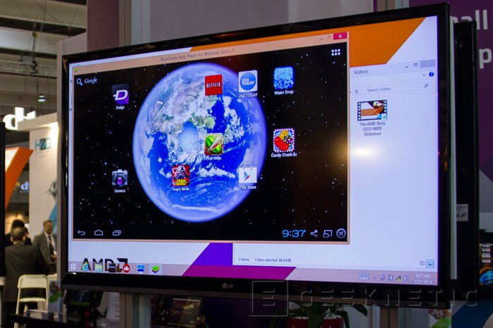 AMD y BlueStacks llevan Android a los ordenadores con Windows, Imagen 1
