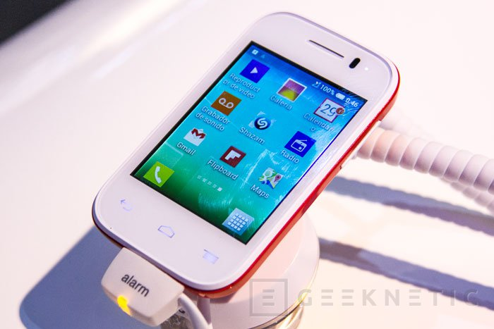 Alcatel One Touch Pop Fit, el smartphone