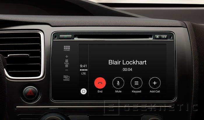 Apple CarPlay, llega la integración del iPhone con el automóvil, Imagen 2