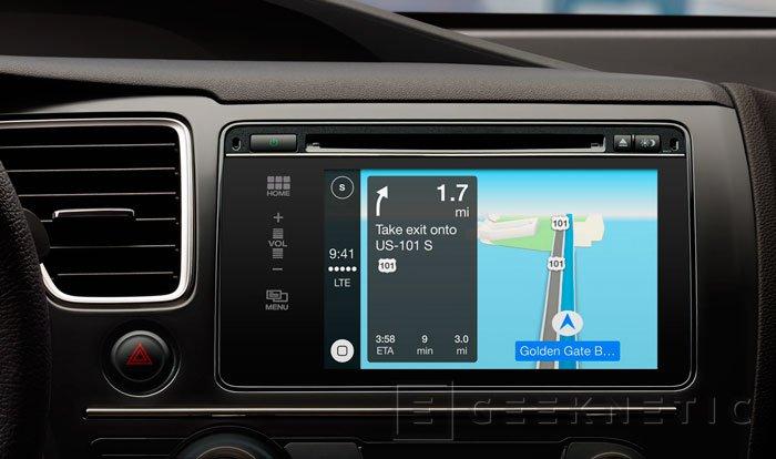 Apple CarPlay, llega la integración del iPhone con el automóvil, Imagen 3