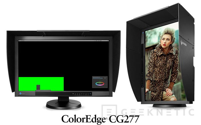 Eizo lanza dos monitores profesionales con sistema de calibración automática, Imagen 1