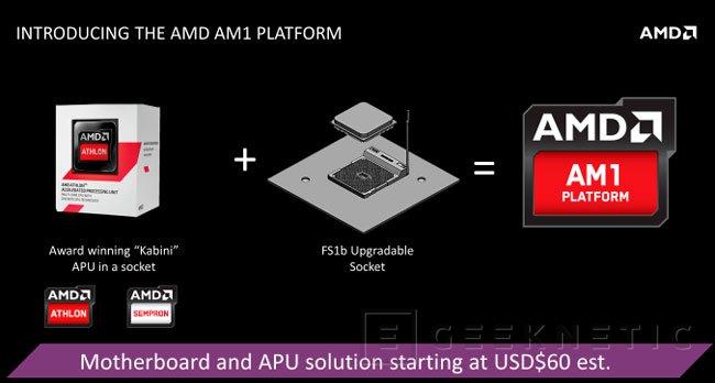 AMD AM1, nueva plataforma para ordenadores económicos, Imagen 1
