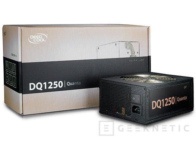 Deepcool Quanta DQ-1250W, nueva fuente con eficiencia 80 PLUS Platinum, Imagen 1