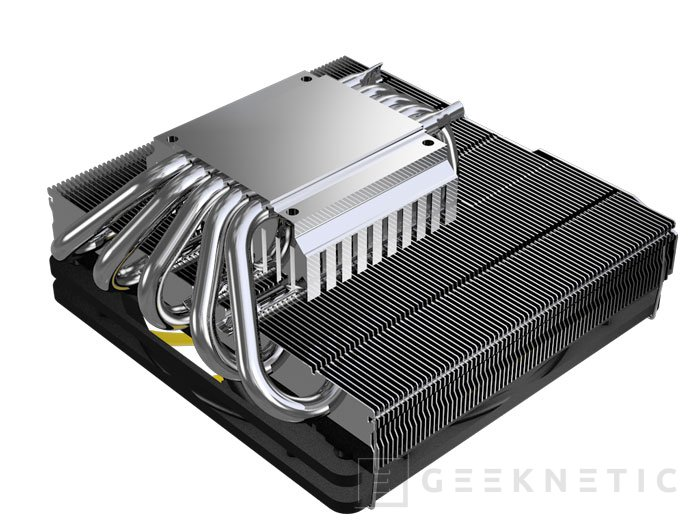 Reeven ofrece refrigeración extra con un tamaño contenido con su disipador Steropes RC-1206, Imagen 2