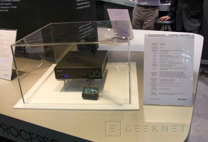 Shuttle consigue integrar un Intel Core i7 Haswell en su nuevo mini PC DS81, Imagen 1