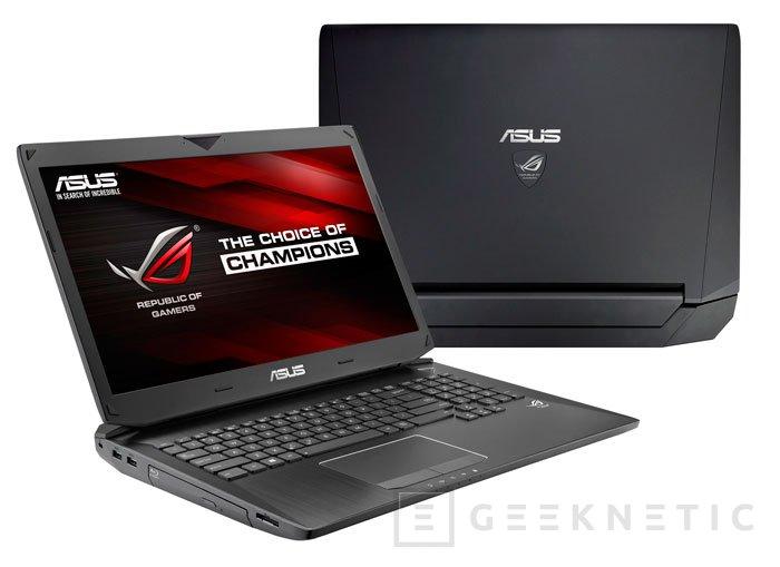 ASUS también actualiza sus portátiles ROG G750 con las nuevas GeForce GTX 800, Imagen 1