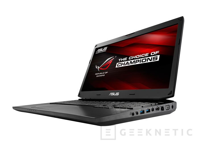 ASUS también actualiza sus portátiles ROG G750 con las nuevas GeForce GTX 800, Imagen 2