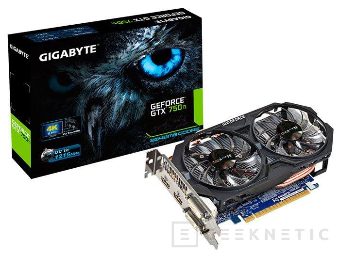 Gigabyte aumenta aún más las velocidades de su GTX 750 Ti  , Imagen 2
