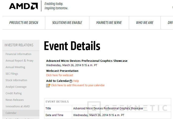 AMD utilizará una GPU Hawaii en su próxima gráfica FirePro para el mercado profesional, Imagen 1