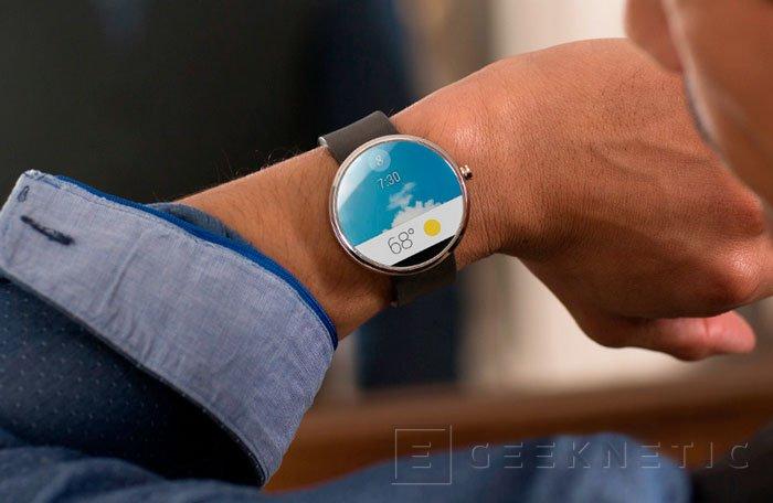 Motorola prioriza el diseño con su Moto 360, su primer reloj con Android, Imagen 2
