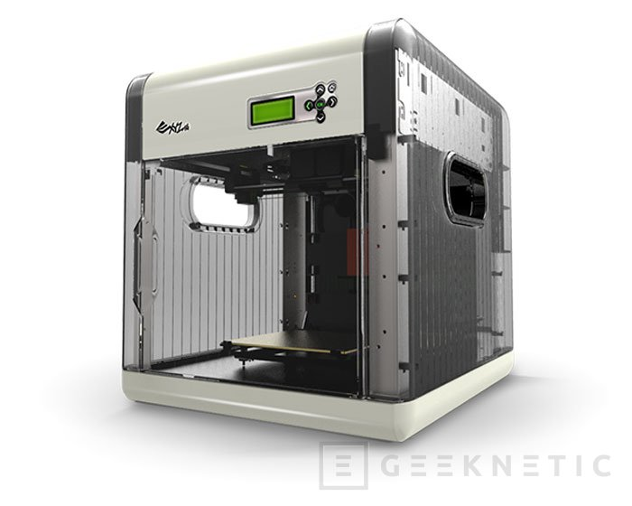 Da Vinci 1.0: Una impresora 3D por 360 Euros, Imagen 1