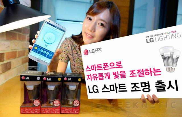 Las nuevas bombillas LED de LG integran WiFi para controlarlas con el móvil, Imagen 1