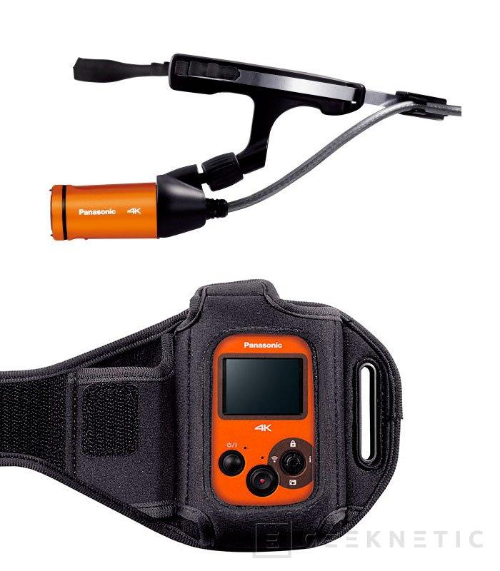 Panasonic va a por las GoPro con su nueva cámara deportiva HX-A500 con grabación 4K, Imagen 3