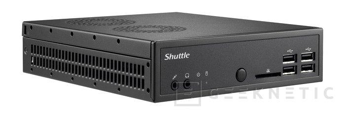 Shuttle DS81. Barebone industrial 4k, Imagen 1