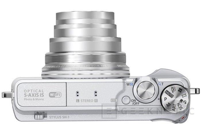 Olympus Stylus SH-1 introduce la primera cámara compacta con estabilizador 5-ejes, Imagen 1