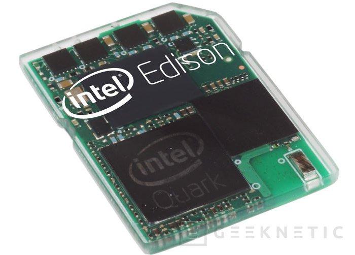 Intel introduce cambios en el Edison, ya no entrará en una tarjeta SD, Imagen 1