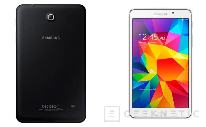 Samsung actualiza ligeramente su gama de entrada con los nuevos tablets Galaxy Tab 4, Imagen 2