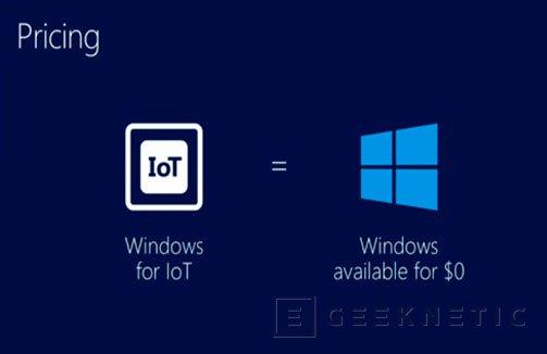 Microsoft ofrecerá Windows de manera gratuita en cualquier dispositivo de menos de 9 pulgadas, Imagen 2
