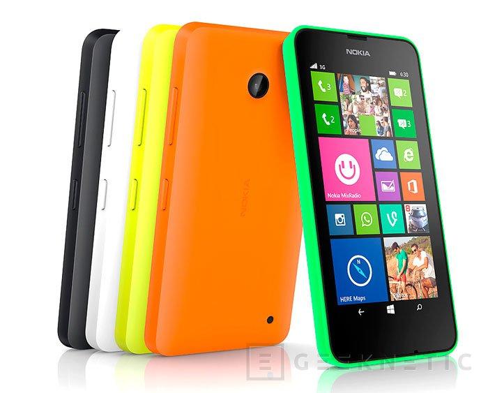 Llegan los Lumia 630 y 635 para renovar la gama económica de Nokia con Windows Phone 8.1, Imagen 1