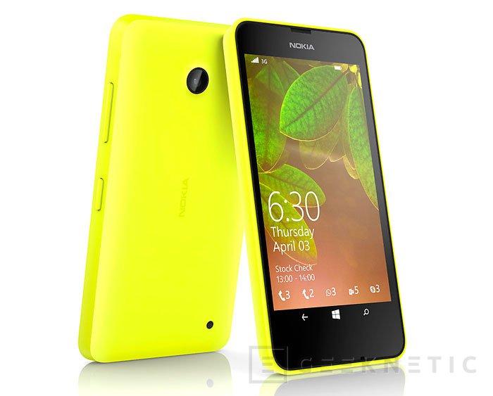 Llegan los Lumia 630 y 635 para renovar la gama económica de Nokia con Windows Phone 8.1, Imagen 2