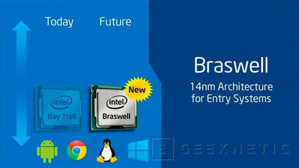 Intel Braswell será la nueva familia de chips de bajo consumo para ordenadores y tablets baratos, Imagen 1