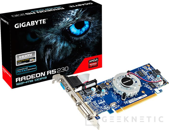 AMD lanza fuera del mercado OEM la Radeon R5 230 de gama baja , Imagen 1