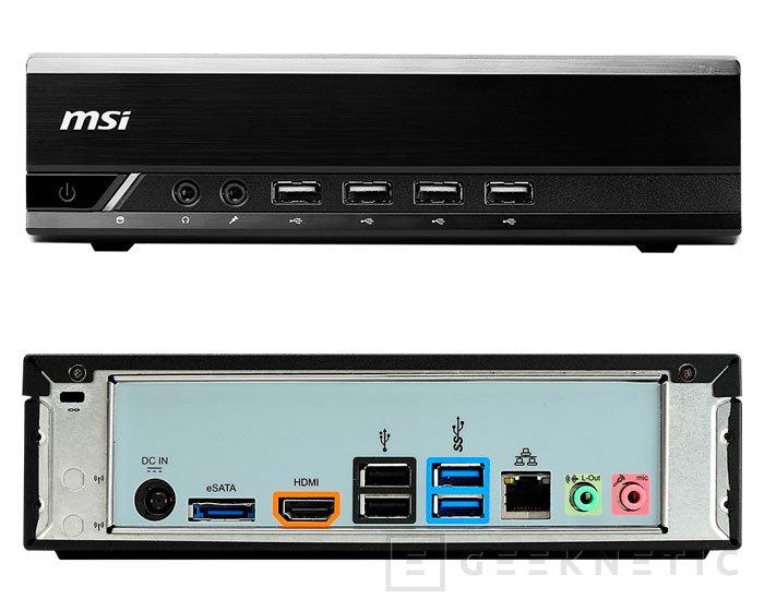 El nuevo MSI ProBox23 inaugura una nueva familia de Barebones compactos, Imagen 2