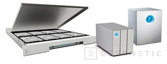 LaCie consigue discos externos de hasta 48 TB de capacidad con velocidades superiores a los 1300 MB/s, Imagen 1
