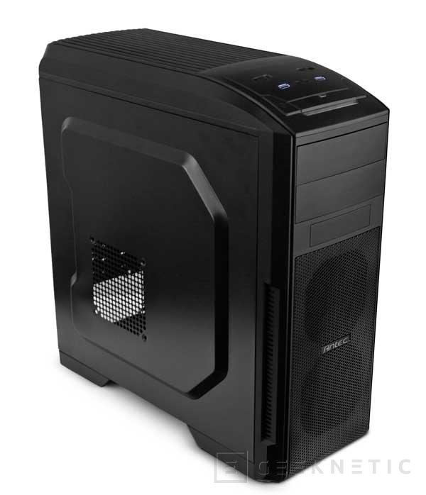 Antec hace más asequibles las torres gaming con su nueva GX500, Imagen 1