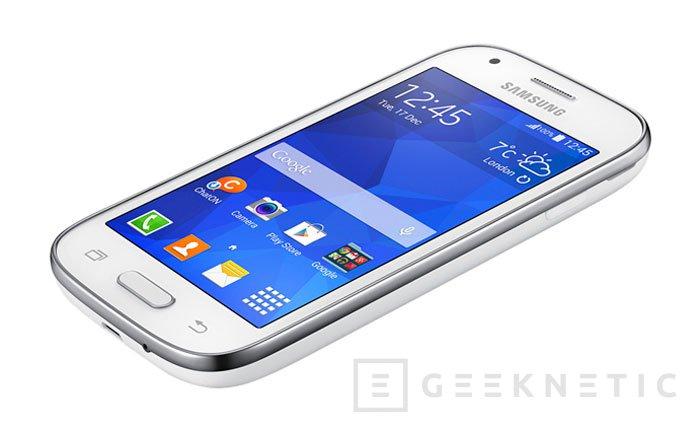 Samung aumenta su catálogo de terminales de gama baja con el nuevo Galaxy Ace Style, Imagen 2