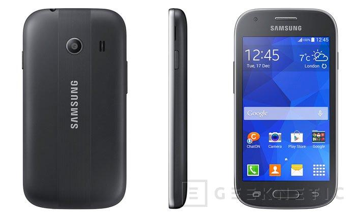 Samung aumenta su catálogo de terminales de gama baja con el nuevo Galaxy Ace Style, Imagen 3