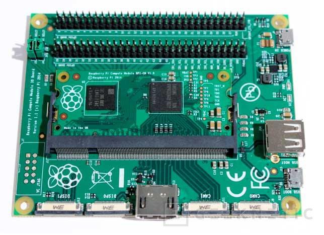 La nueva versión del RaspBerry Pi llega en formato SODIMM, Imagen 2