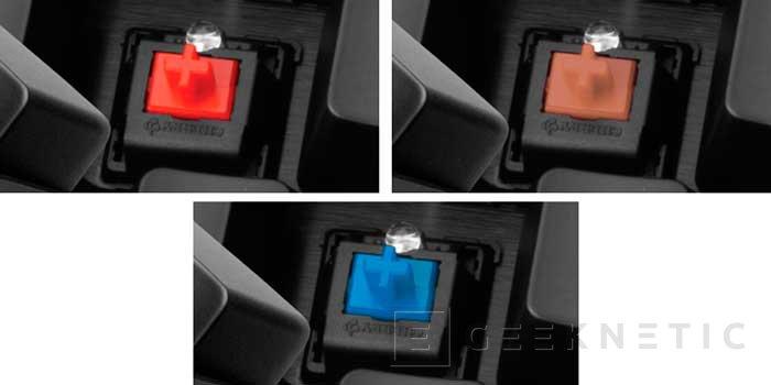 Corsair modifica su teclado mecánico Vengeance K70 con nuevos interruptores Cherry MX, Imagen 3