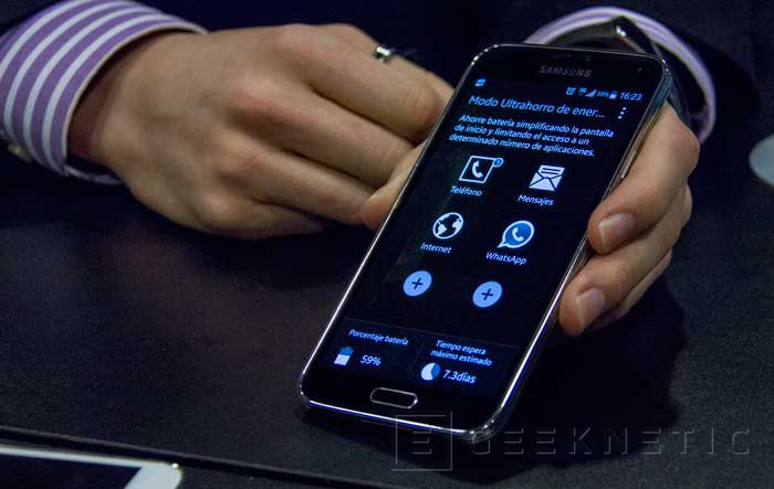 Llega a España el Samsung Galaxy S5 y desvelamos algunas funciones especiales que incorpora, Imagen 1