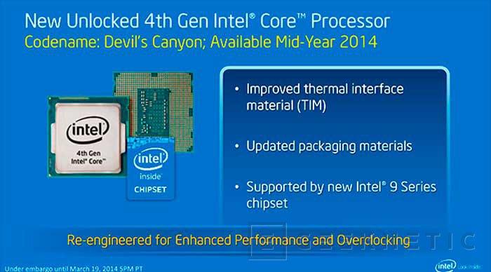 La segunda oleada de procesadores Intel Haswell llegará en mayo, Imagen 1
