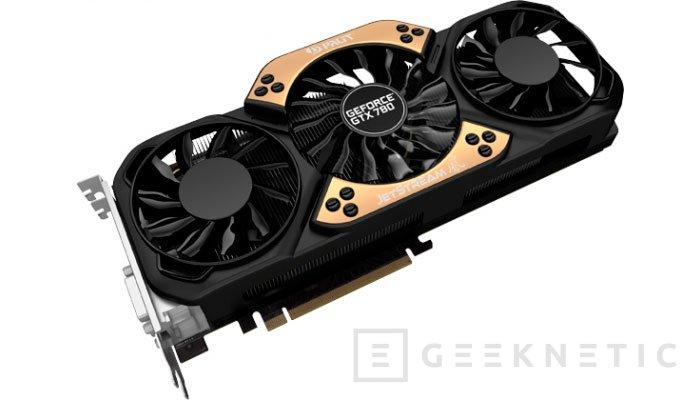 Palit también se apunta a lanzar una GTX 780 con 6 GB de memoria RAM, Imagen 1