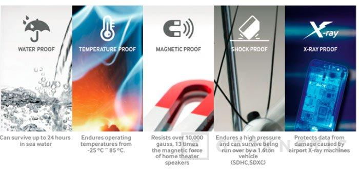 Samsung inunda su catálogo con nuevas tarjetas de memoria SD y microSD, Imagen 2