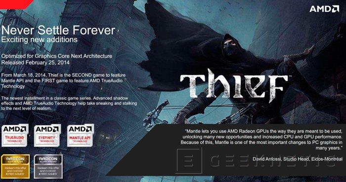 AMD renueva los juegos que ofrecen gratis en su promoción Never Settle Forever, Imagen 3